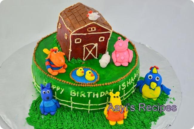 backyardigans cake1