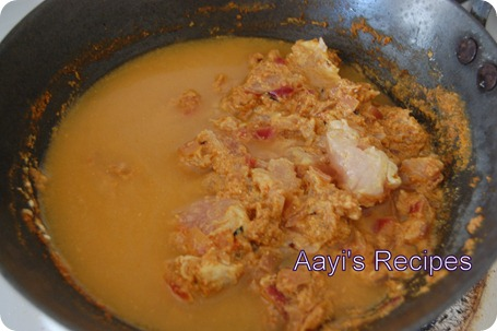 chicken gravy with tomyog9