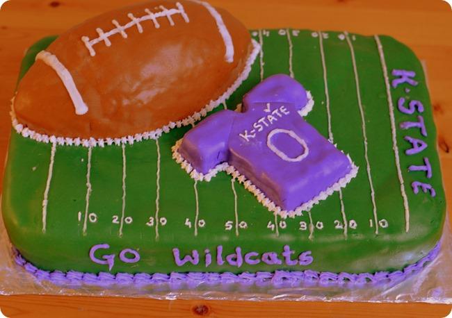 kstate football cake