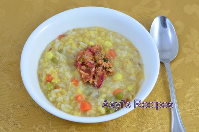 quinoa vegetable pongal