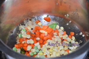 quinoa vegetable pongal3
