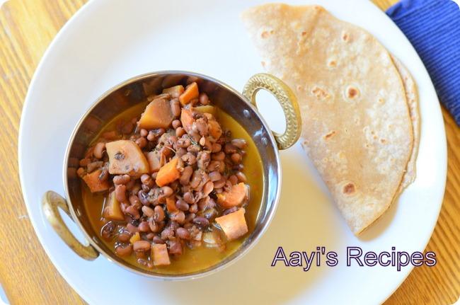 red chori-veggie curry