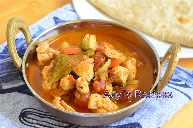 Spicy Chicken Vegetable Stew - Aayis Recipes