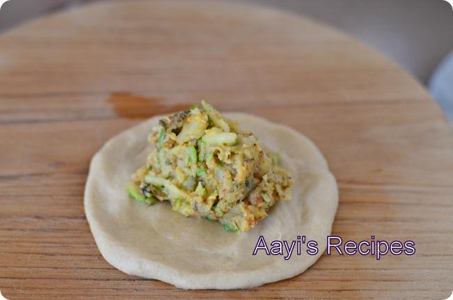 zucchini paratha6