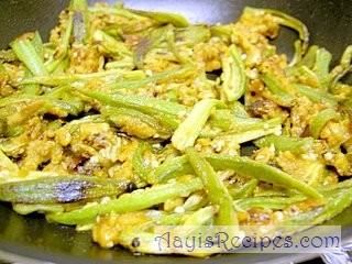Crispy Bhindi fry
