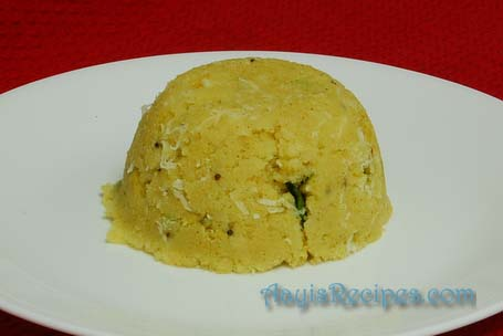 Simple Uppittu (Upma)