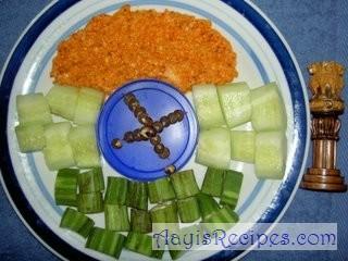 Mixed vegetable curry (Gajbaje randayi)