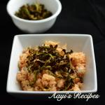 Dried Shrimp chutney (sukkil sungta kismuri)