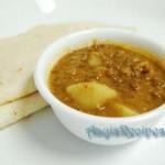 Chickpea-plantain stir fry (Chana-kele upkari)