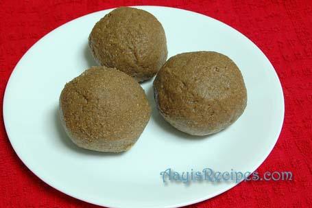 Finger millet balls(Ragi mudde)