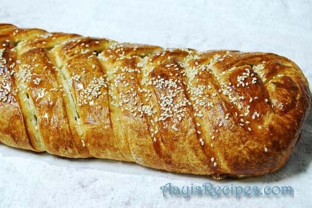 Danish braid pastry