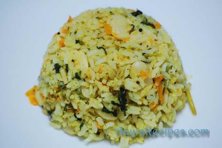 Methi-val rice