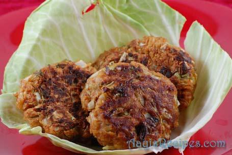 cabbage-coriander-vada