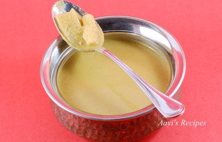 Potato in coconut masala (Hirva batata)