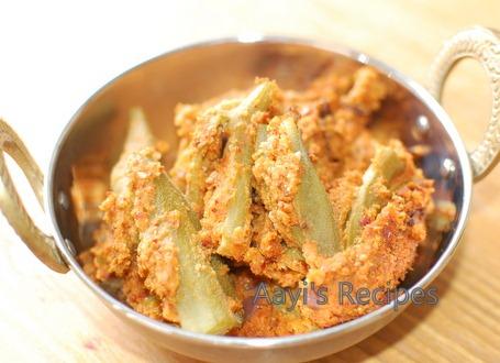 Stuffed Okra(Bhindi)