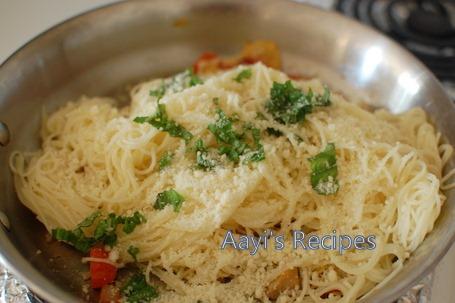 pasta with artichokes3