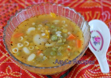 16 Bean Vegetable Soup