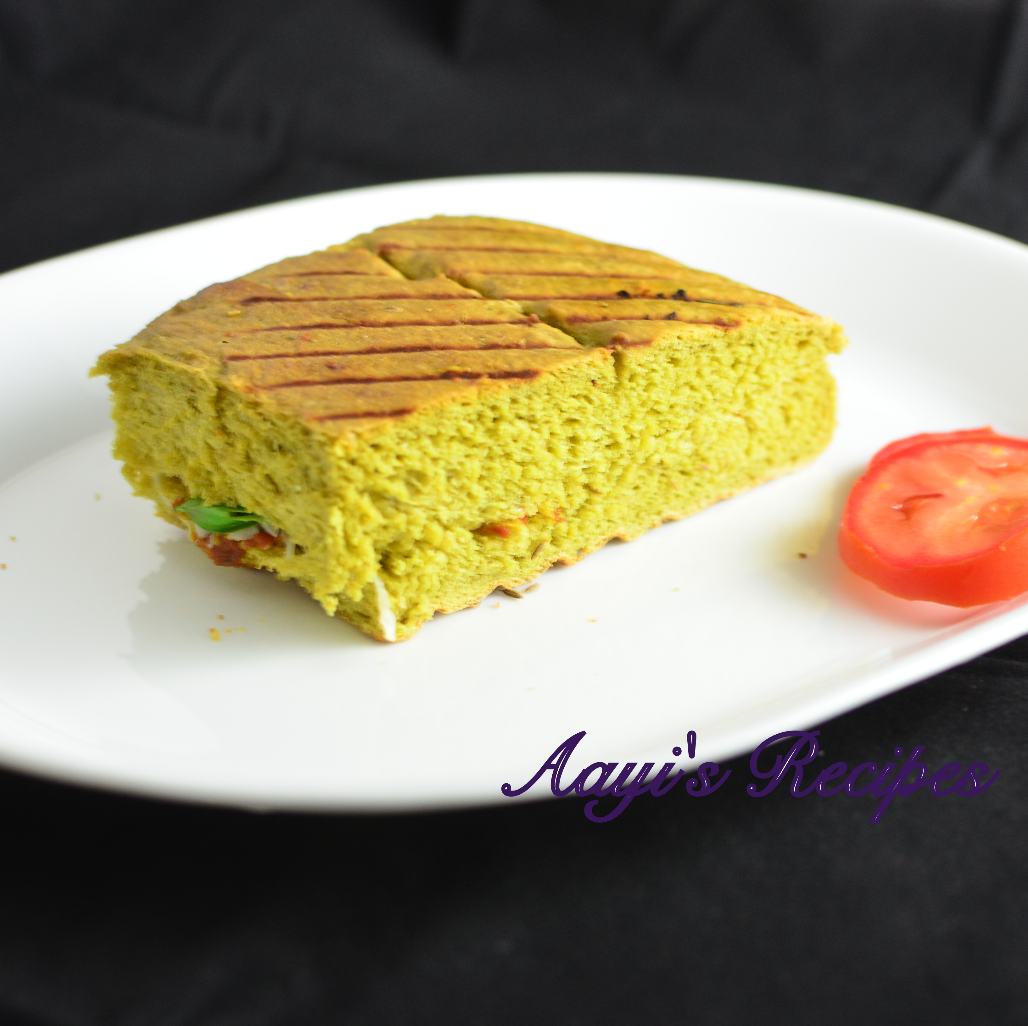 Spinach Cumin Seed Bread By Aayi S Recipes