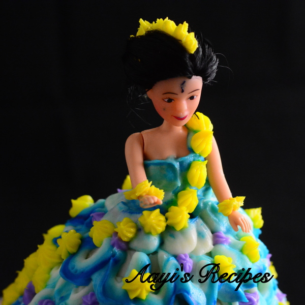 blue princess cake1