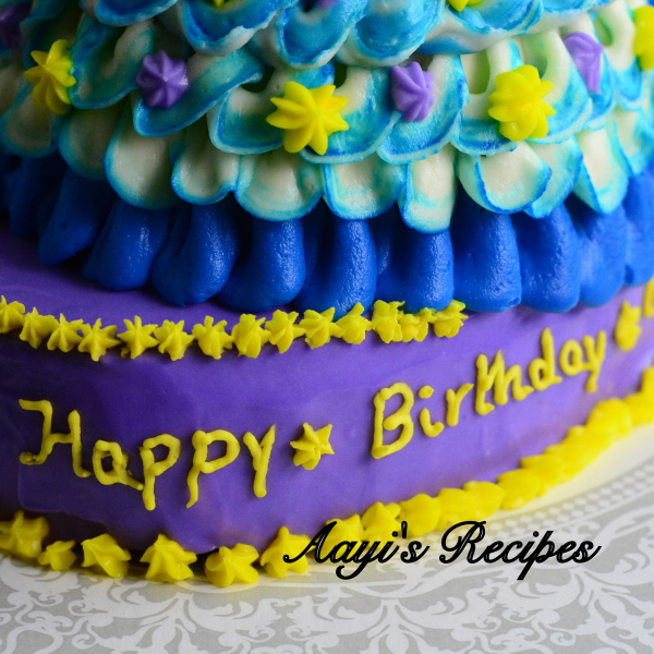 blue princess cake8