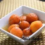 Sweet Appe With Sooji