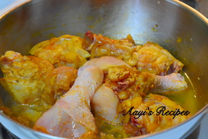 chicken curry with black cardamom1