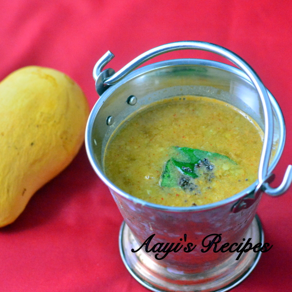 Mango Dal with Fenugreek