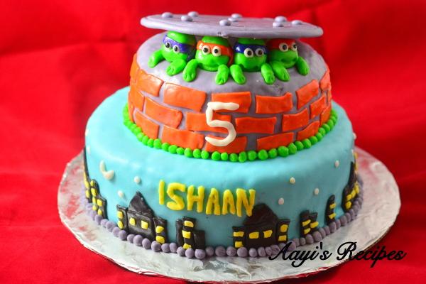 ninja turtles cake5