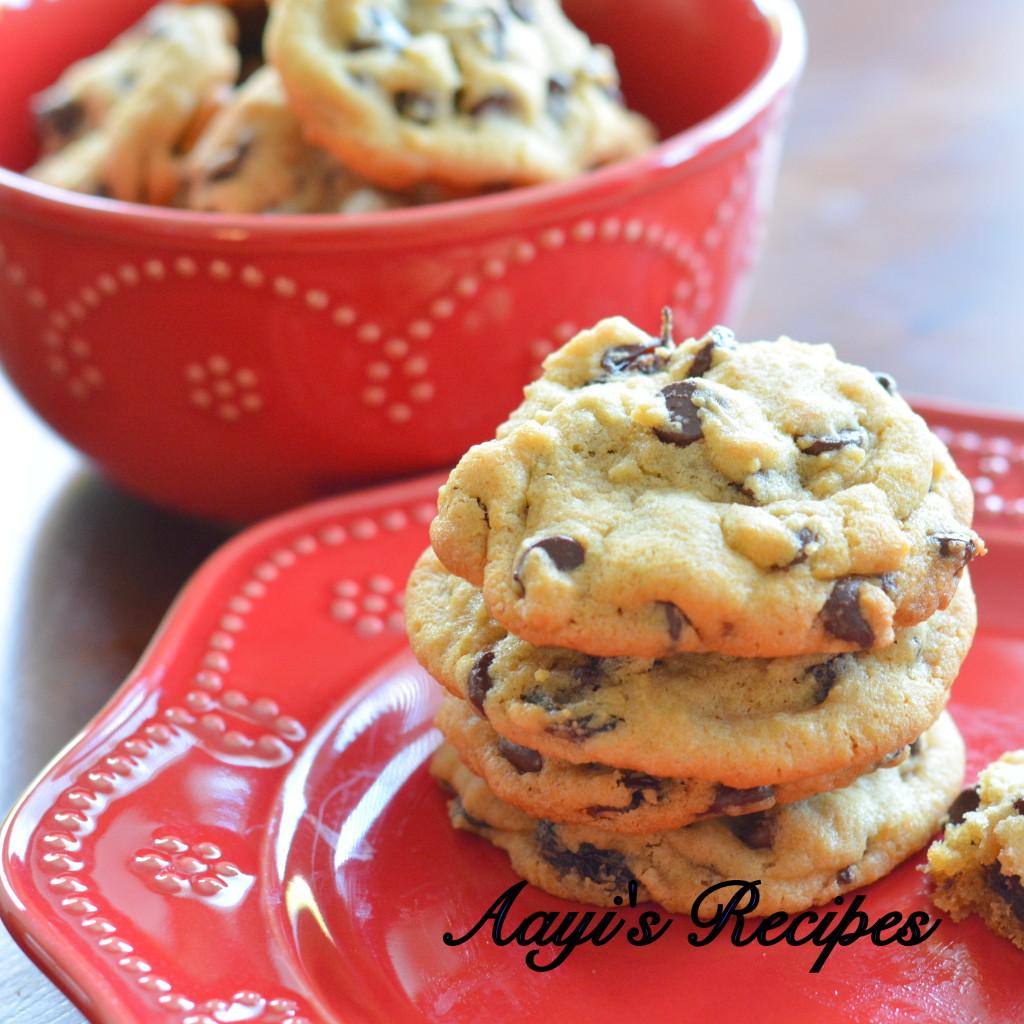Raisin and Chocolate chip cookies
