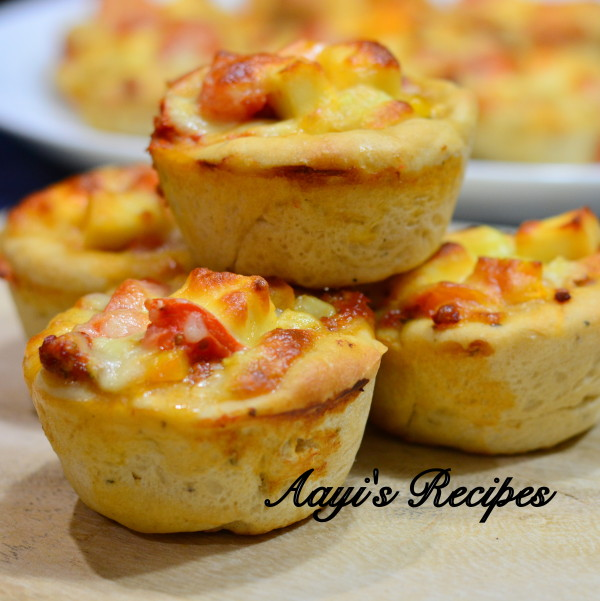 pizza cupcakes aayis recipes