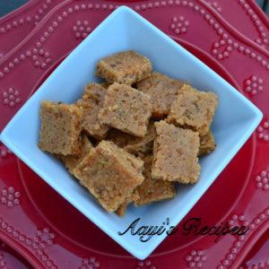 Coconut Jaggery Burfi (Soyi Khadi)