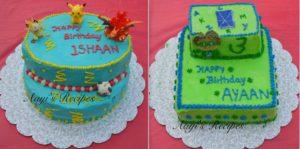 Pokémon Cake and Super Why Cake