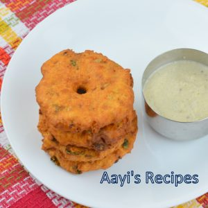 Spicy Mixed Flour Vada