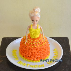 Pressure Cooker Cake (A Princess Birthday Cake)
