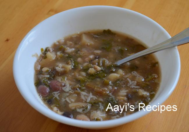 Beetroot Leaves – Potato Soup